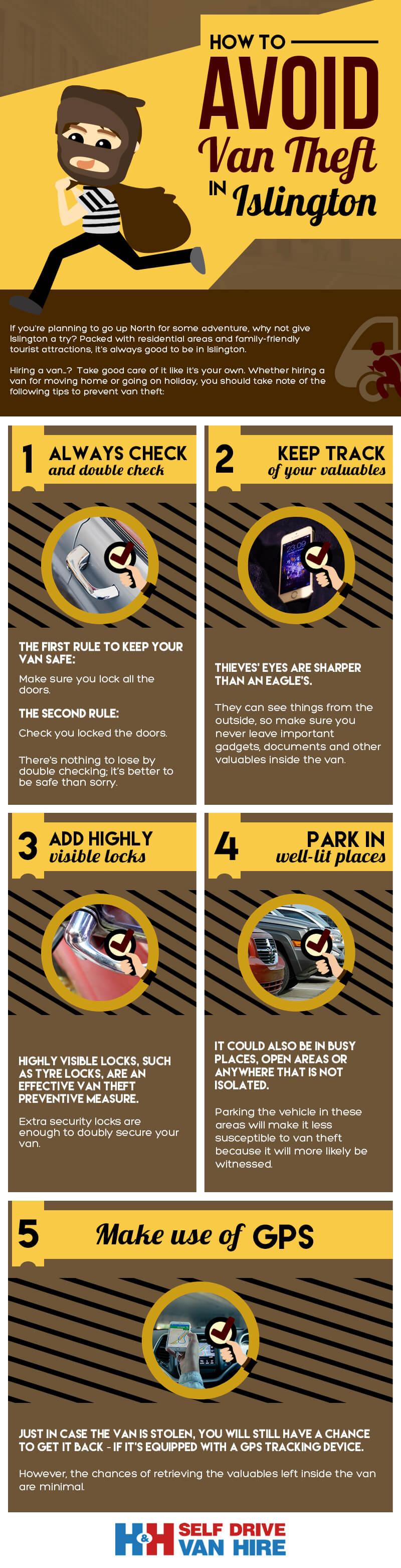 How to Avoid Van Theft in Islington