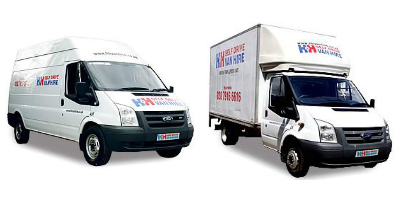 luton and long wheel base vans