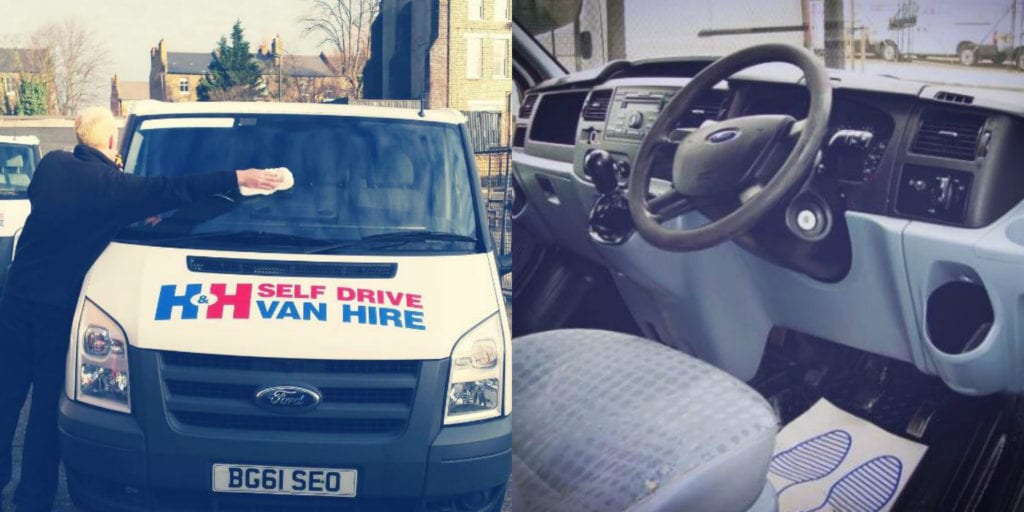 Why Choose H&H Van Hire's Wheel Base Vans?