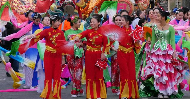 Chinese New Year Street Dancers