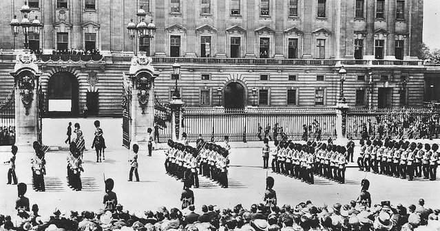 History of Trooping the colour