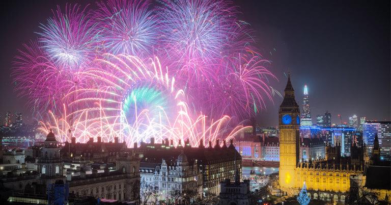 London Fireworks